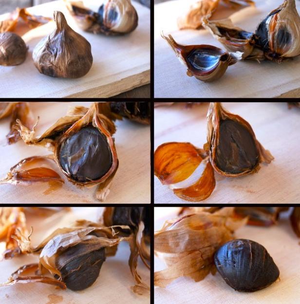 02-Ajo negro Black Garlic Ail Noir (L'ail noir d'Aomori)